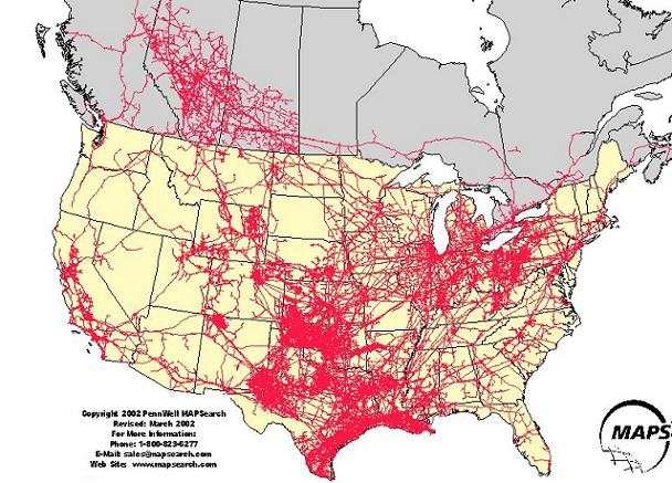 Interior Keystone XL Pipeline Will Impact Cultural Soundscapes - Map of us pipelines