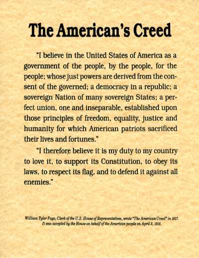 americanscreed